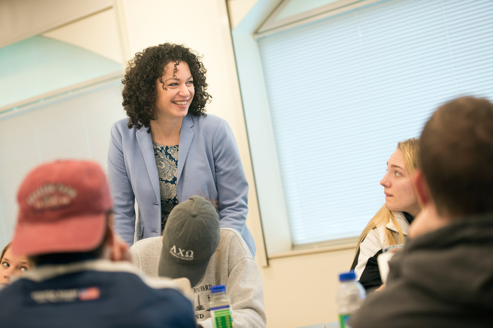 Professor Antoaneta Vanc uses her eclectic global experiences to bring new perspectives to her School of Communications students.